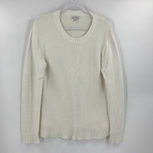 J. Crew Sweaters - J Crew Mercantile Crewneck Wide Ribbed Sweater